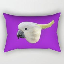 Parrot Cute Face Rectangular Pillow