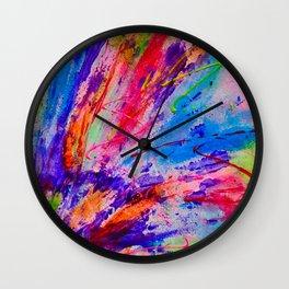 Splash. Wall Clock