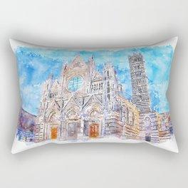 Cathedral of Santa Maria Assunta, Siena Rectangular Pillow