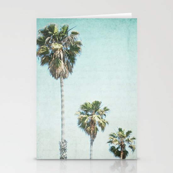 Letters From Those Sunny Days Stationery Cards