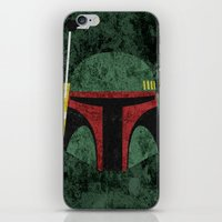 boba fett iPhone & iPod Skins featuring Boba Fett by Some_Designs