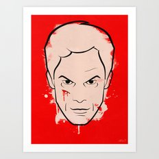 Dexter Morgan - Dexter Art Print