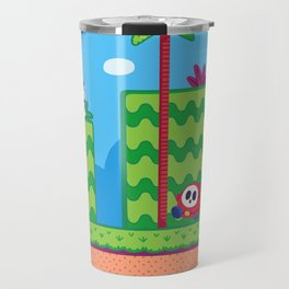 Tiny Worlds - Super Mario Bros. 2: Mario Travel Mug