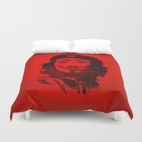 anonymous Duvet Covers featuring Che Anonymous by Nxolab