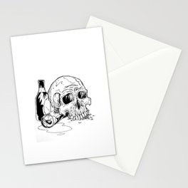 Skull Abuse  Stationery Cards
