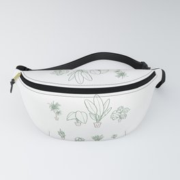 Plants family 1  Fanny Pack