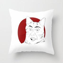 """""""you dont say?"""" Throw Pillow"""