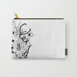 Heart of a Nurse Carry-All Pouch