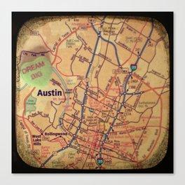 Dream Big Austin Canvas Print
