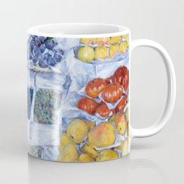 Gustave Caillebotte - Fruit Displayed On A Stand - Digital Remastered Edition Coffee Mug