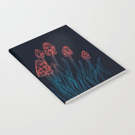 Hyacinths in the night Notebook