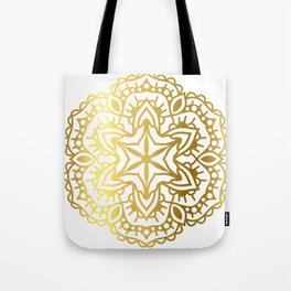 Gold Mandala 4 Tote Bag