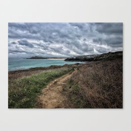 St ives Walk Canvas Print