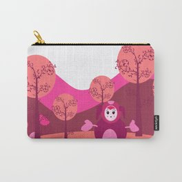 Small purple monster Carry-All Pouch