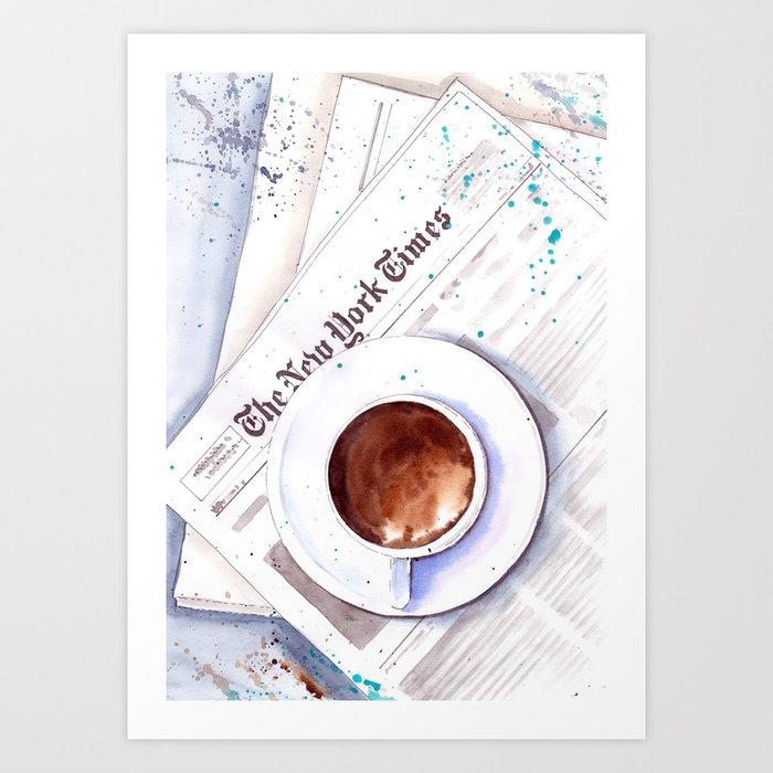 Cup of coffee Kunstdrucke