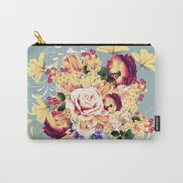Roses and lilac. Beautiful victorian design Carry-All Pouch