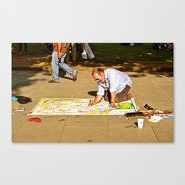 Local Art Canvas Print
