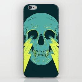 Lightning Skull iPhone Skin