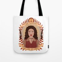 heymonster Tote Bags featuring Zoë Washburne by heymonster