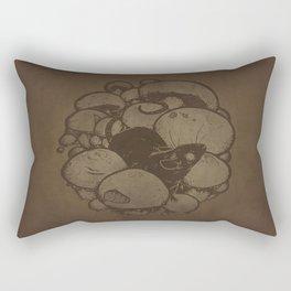 Fungal Fauna - Mouse Rectangular Pillow