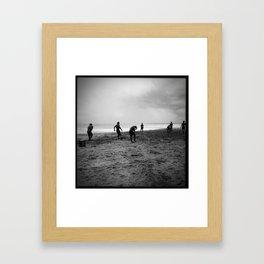 Cowboys of Kuta Framed Art Print