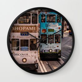 SHAUKEIWAN TRAM Wall Clock