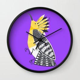 The Hoopoe Wall Clock