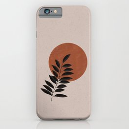Abstract Plant Phone Case iPhone Case