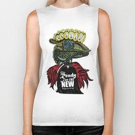 Annunaki Reptilian Reina  Biker Tank