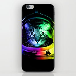 Astronaut Cat iPhone Skin