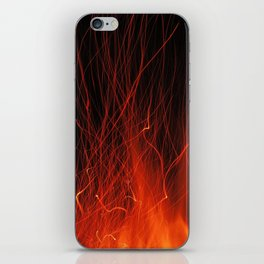 Fire 2010 iPhone Skin