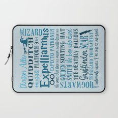 Harry Potter - All Quotes  Laptop Sleeve