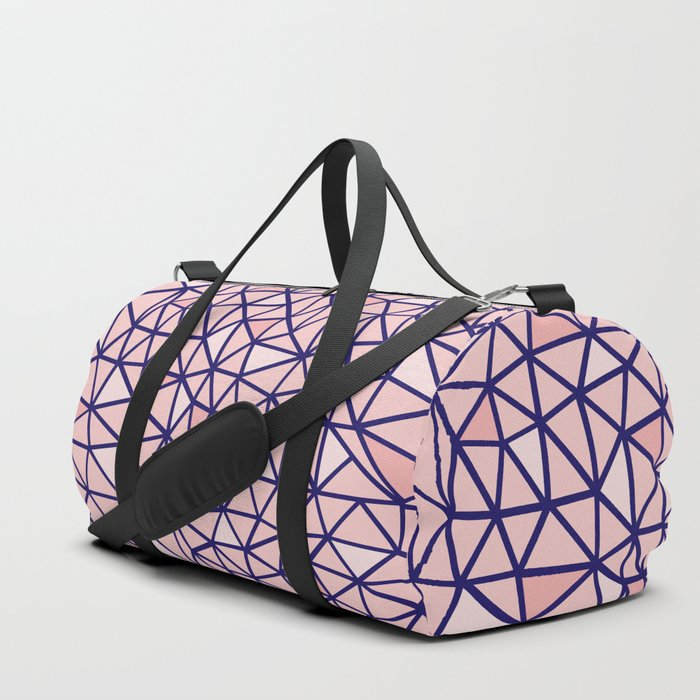 Broken Blush Duffle Bag