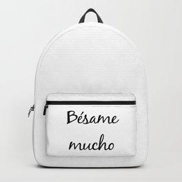 Besame mucho Backpack