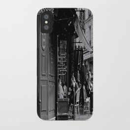 At the Brasserie iPhone Case