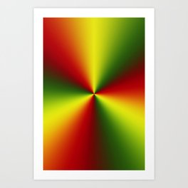 Abstract perfection - 101 Art Print