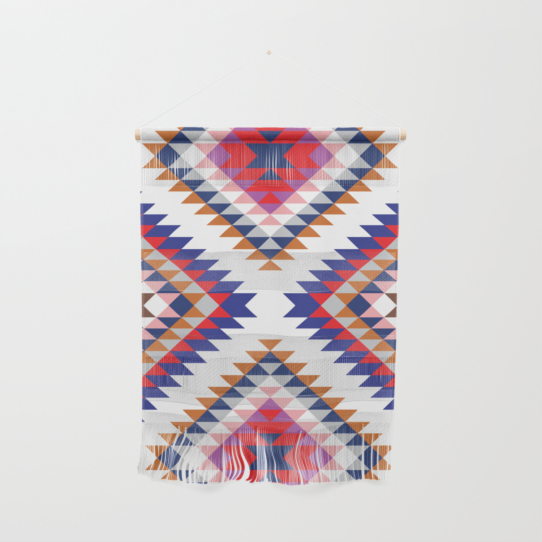 Aztec Rug Wall Hanging by bitart | Society6
