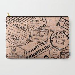 Passport Kraft Carry-All Pouch