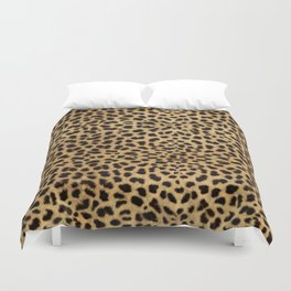 Cheetah Print Duvet Cover