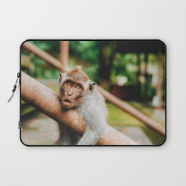 Cute Monkey (Color) Laptop Sleeve
