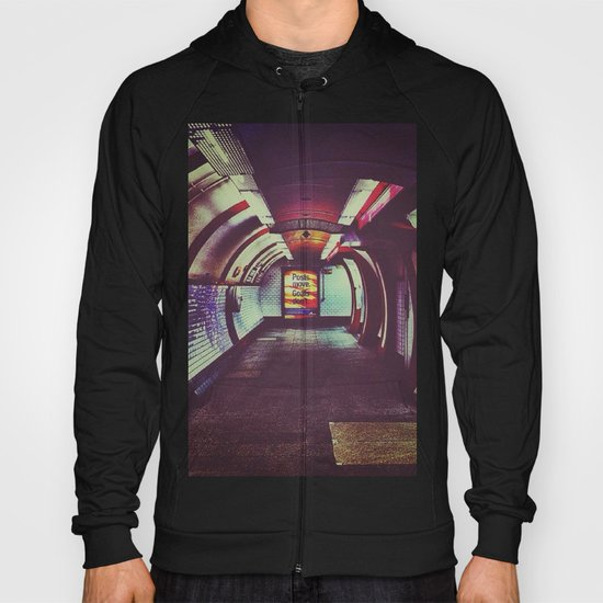 Though the tunnel Hoody