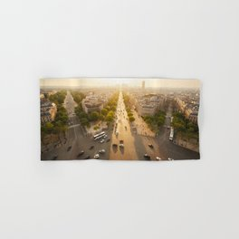 Champs Elysees From the Top Hand & Bath Towel