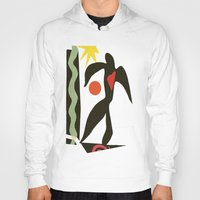 matisse Hoodies featuring Inspired to Matisse (vintage) by Chicca Besso