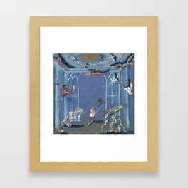 The Bird Catcher Framed Art Print
