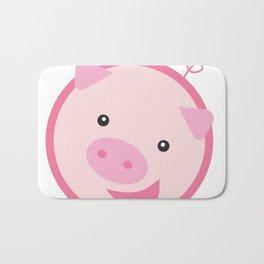 Picky Pinky Piggy Bath Mat