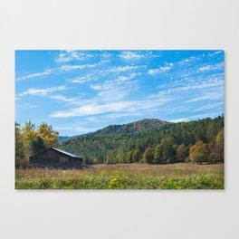 Great Smoky Mountains - Abandoned Barn Canvas Print