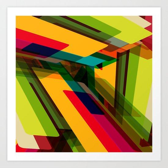 Field of Colors Art Print