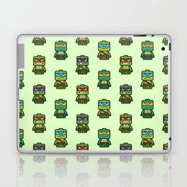 Chibi Ninja Turtles Laptop & iPad Skin