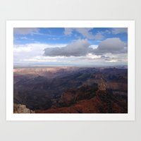 Imperial Point - Grand Canyon National Park North Rim Art Print