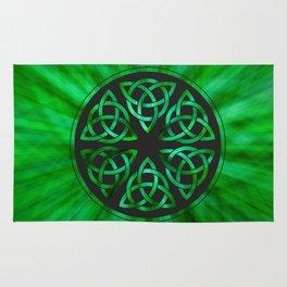 Celtic Knot Star Flower Rug